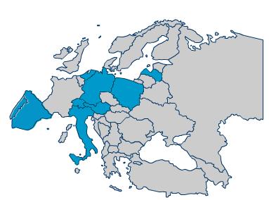 Ascon Mappa Europa